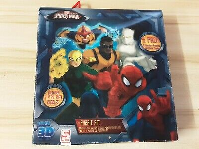 £4 • Buy Spiderman 3d Puzzles 4 Pack