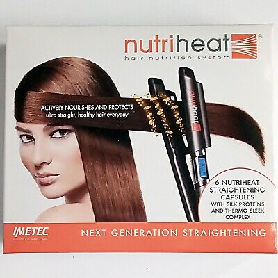 NUTRIHEAT HAIR NUTRITION SYSTEM BY IMETEC Pack Of 6 Any Quantity Same Postage! • 1£