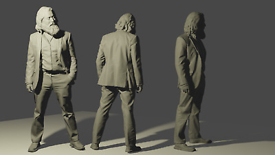 £8 • Buy  1/24 Man Figure Good For Diorama Or Model Kits Not Painted