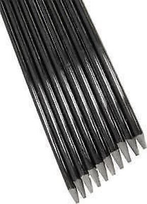 3 X 1M/10mm FIBRE GLASS POLE STAKES FOR TELESCOPIC POLES WHIPS FREE P&P UK ONLY • 14£