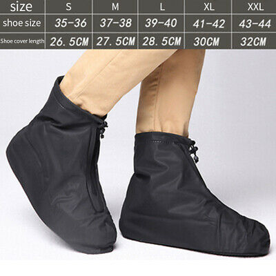 AU13.49 • Buy Men Women Foot Wear Travel Waterproof Non Slip Shoe Cover Rain Boots Accessories