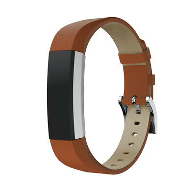 AU14.99 • Buy Soft Leather Band Bracelet Replacement Strap Belt  For Fitbit Alta / HR