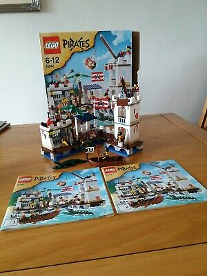 £185.99 • Buy Lego 6242 Pirates Soldiers Fort (100% Complete) With Instructions & Box.