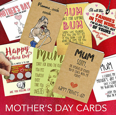 Greeting Card Funny Rude Mothers Day Mum Mummy Step Birthday Cheeky Banter Joke • 2.99£