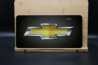 Chevy Gold License Plate - Custom Car Tag - Personalized License Plate • 9.54£