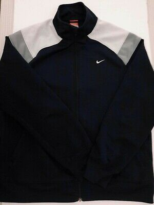 Nike Track Jacket Tracksuit Top Mens XL Navy/blue Polyester  • 12.95£
