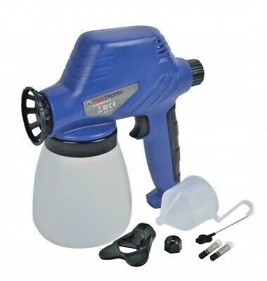 £24.99 • Buy Tooltronix 80w Electric Pro Spray Paint Gun For Fence Car Varnish Sealer Primer