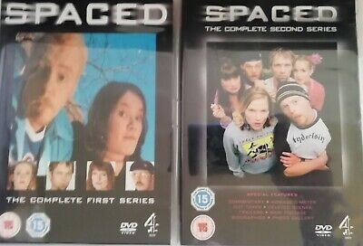 £4.19 • Buy MINT CONDITION Spaced Series 1 And 2 Dvd Simon Pegg Comedy Funny Hilarious Pal