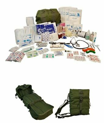 $159.95 • Buy NEW Elite First Aid Tactical M17 Medic Bag Trauma STOCKED KIT Military Survival