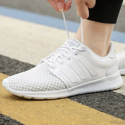 AU69.54 • Buy Adidas QT Racer Women's Shoes Running Sneakers Size 10 White F34701