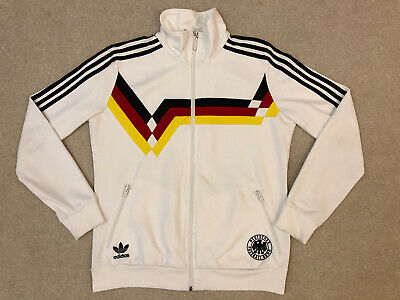 West Germany Adidas Originals 1990 Inspired Track Top / Jacket Size: Adults L • 95£