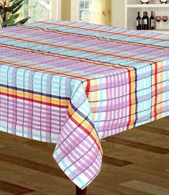 £14.99 • Buy New Stock Seersucker 100% Cotton Tablecloth Various Colours And Sizes