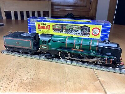 Hornby Dublo 3 Rail 3235 BR 4-6-2 West Country Dorchester Serviced & Remaged • 249.99£