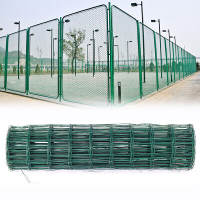 PVC Coated Galvanised Welded Wire Mesh Aviary Fence Roll Chicken Rabbit Garden  • 19.14£