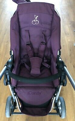 ICandy Cherry Mulberry Pushchair Bundle • 60£