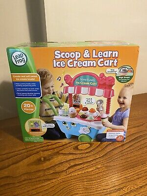 Leapfrog SCOOP AND LEARN Ice Cream Cart - Interactive - NEW In Box • 32.95£