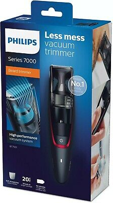 AU99.95 • Buy Philips BT7500 Series 7000 Cordless Beard Trimmer/Remover Rechargeable/Vacuum