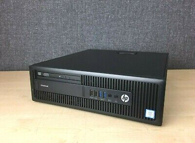 HP EliteDesk 800 G2 SFF Desktop, Intel I5-6500, 8GB RAM, 500GB HDD, Windows 10 • 150£