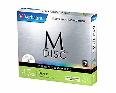 $30.95 • Buy IO Data Device Data DVD M-DISC For Single Recording 4.7GB 1-4x Speed 5mm Case 5P