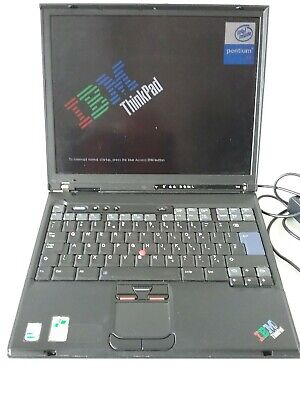 Vintage Ibm Think Pad T41 Laptop • 26£