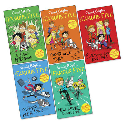 £17.99 • Buy Famous Five Colour Readers 5 Book Collection Set Enid Blyton (RRP £29.95) NEW