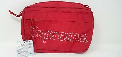$ CDN282.14 • Buy Supreme Shoulder Bag Red FW18 | In Hand | 100% Authentic