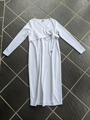 AU25 • Buy ASOS White Dress.Maternity.  Size 12. Can Combine Postage