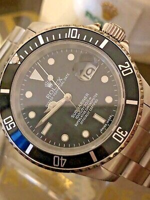 $ CDN13608.53 • Buy ROLEX 16610T SUBMARINER S/S 40mm Automatic D Serial 2006 SEL No Holes Case