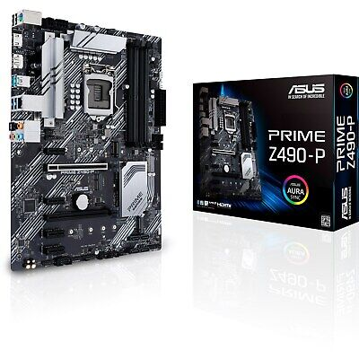 CCL ASUS Prime Z490-P 5.1GHz Intel I7 10700K - Motherboard Bundle • 591£