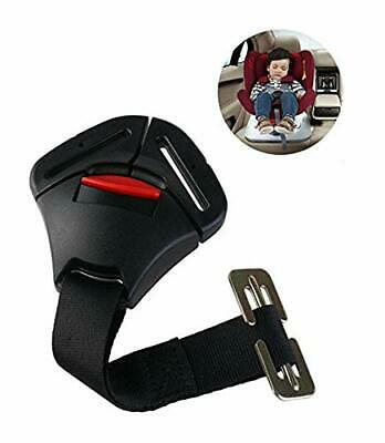 ISKIP Car Seats Crotch Buckle Clip Fixed Lock Buckle Seat Safe Belt Strap Chest • 10.99£