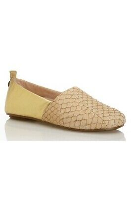 £18.99 • Buy House Of Harlow By Nicole Richie Sand & Gold Kye Slipper Size 6/39 R.R.P. £145