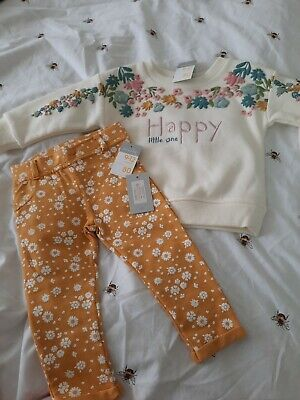 Girls Outfit Size 9-12 Months Brand New • 4.50£
