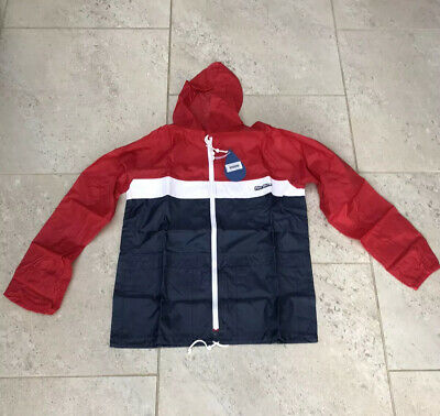 Peter Storm FZ Heritage Collection Cagoule Blue/White/Red BNWT UK Size M • 80£