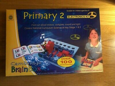 £21.99 • Buy New Sealed Cambridge Brain Box Primary 2 Electronics Kit Home School