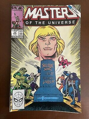 $5.50 • Buy Masters Of The Universe #13 Newsstand 5/88 Final Issue Star Comics 1986 VF