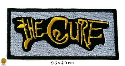 £1.89 • Buy THE CURE Iron On Sew On Embroidered Patch Music Band UK Seller