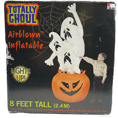 $ CDN115.14 • Buy Inflatable Totally Ghoul Halloween Blow Up Yard Prop Lawn Decoration 8 Feet Tall