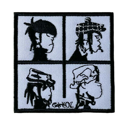 £2.49 • Buy Gorillaz DEMON DAYS ROCK MUSIC METAL Embroidered Iron On Patch UK SELLER