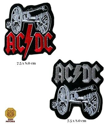 £1.99 • Buy AC/DC Large Embroidered Iron Sew On Patch Heavy Metal Rock Punk ACDC Badge