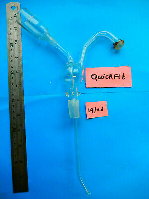 Quickfit Lab Glassware Gas Drying Assembly  • 10£