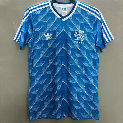 Holland Shirt Netherlands Retro 1988 Top Quality Away Jersey S-2XL • 25.99£