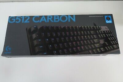 AU99.88 • Buy Logitech G512 Carbon (920008949) Mechanical Gaming Keyboard Brand New