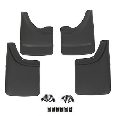 $35.66 • Buy Fits Dodge Ram Mud Flaps 02-08 Guards Splash W/o Flares 4 Pieces Front & Rear