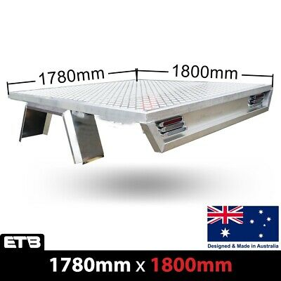 AU1899 • Buy Aluminium Dual Cab Ute Tray Tapered Deluxe Premium Tray 1780W X 1800L(Deck Only)