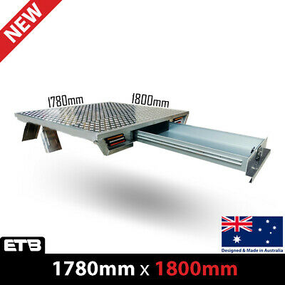 AU3050 • Buy Aluminium Dual Cab Ute Tray Tapered Tray 1780W X 1800L(Deck Only)+Trundle Drawer