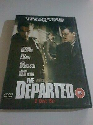 £2 • Buy The Departed (DVD, 2007, 2-Disc Set)