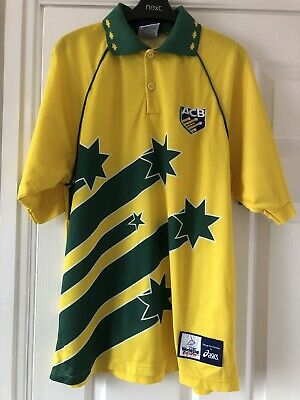 ACB Australia Cricket World Cup  England Cricket Shirt - Size Medium  • 9.50£