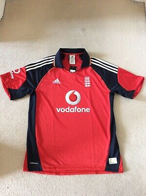 England Adidas Ashes ODI Cricket Shirt Large BNWT • 14£