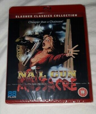 Nail Gun Massacre Blu Ray 88 Films OOP SEALED  • 18.99£