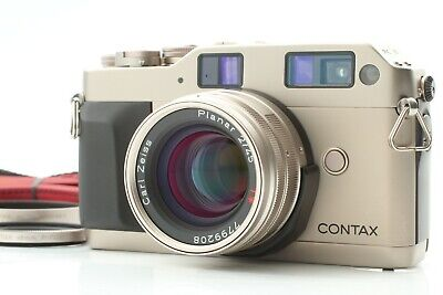 $ CDN949.37 • Buy 【MINT W/ STRAP】 Contax G1 Green Label Body + Planar 45mm F2 Lens From JAPAN #891